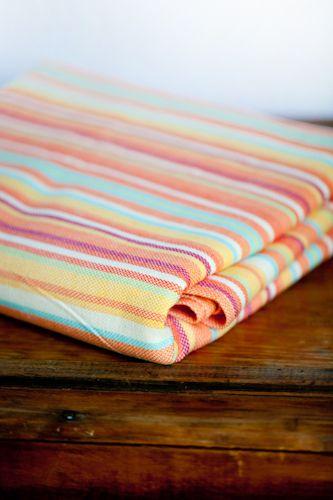 Tropical Stripe Gira baby wrap
