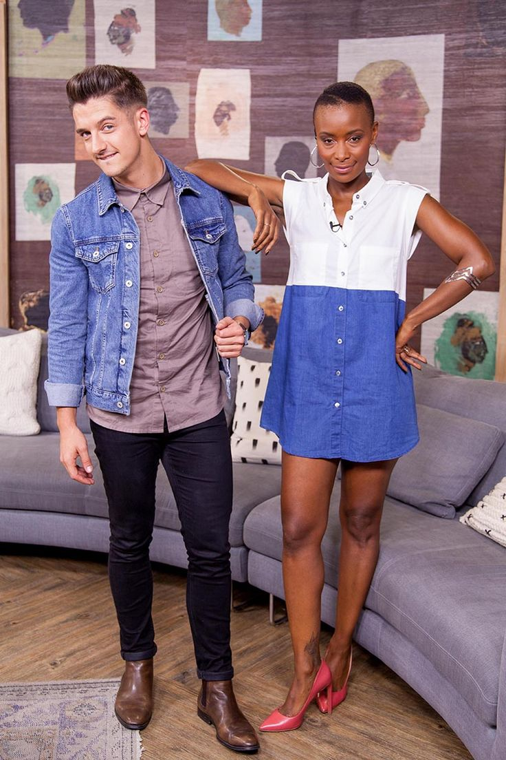 Afternoon Express, Episode 212, 5 April 2016 - See what presenters Danilo Acquisto and Bonnie Mbuli were wearing