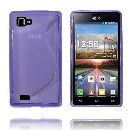 Transparent S-Line (Lilla) LG Optimus 4X HD Deksel