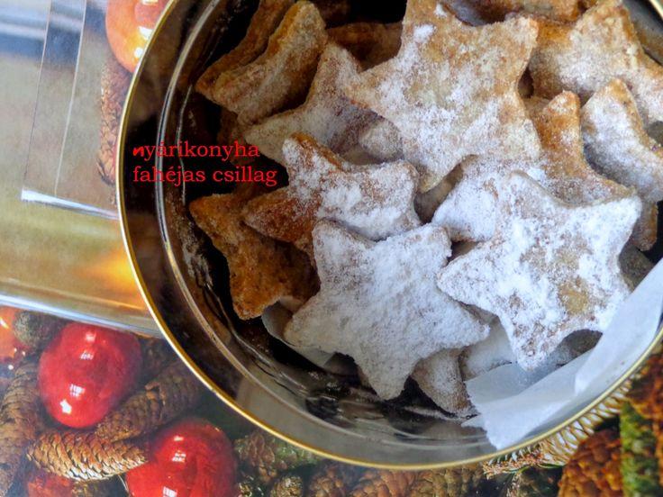 nyárikonyha: Karácsonyi aprósütik : Fahéjas csillag és mézeskal...