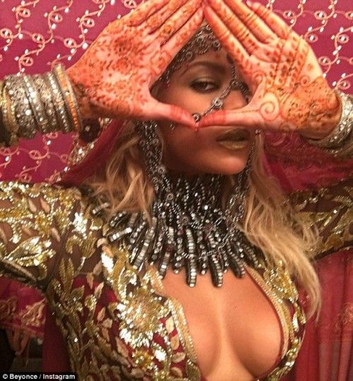 Beyoncé has been doing it for like a decade. She recently posted this to her 65.8 million Instagram followers.