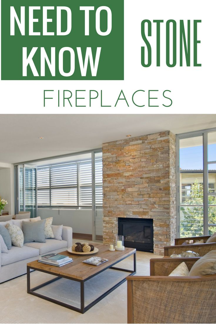 Thinking Of A Stone Fireplace? Check Out What You Need To Know Before This  Big
