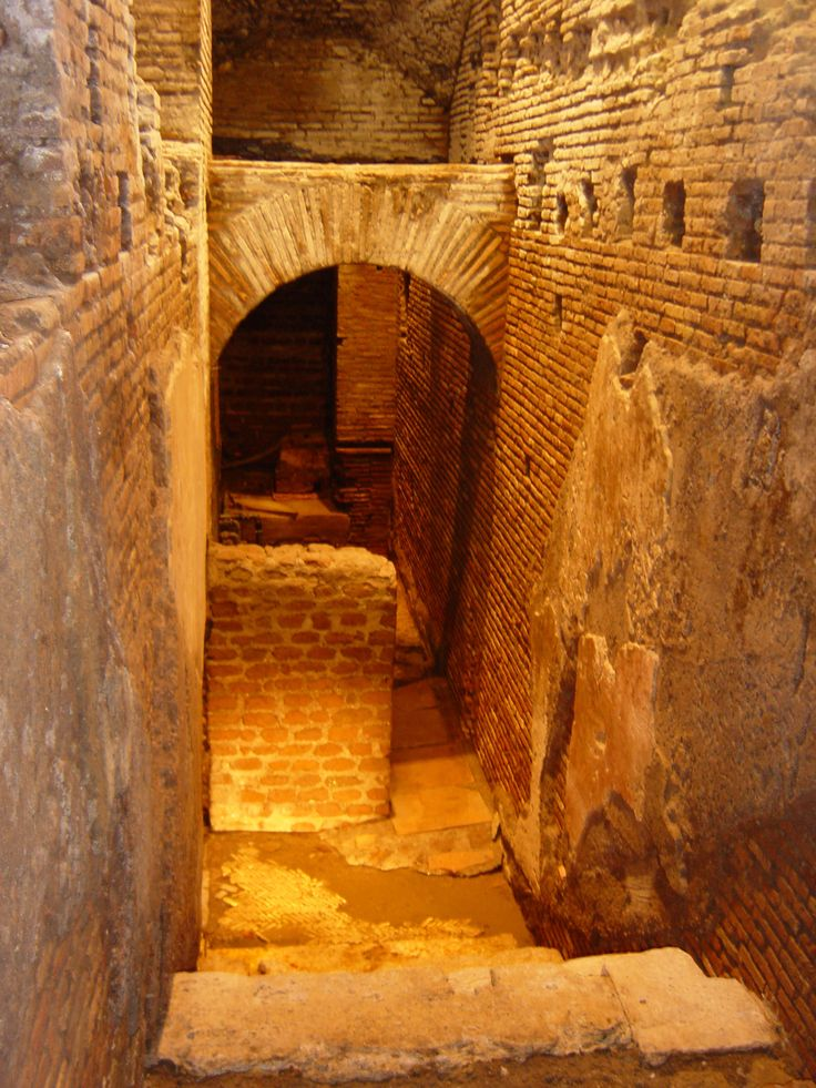 La Città dell'Acqua (City of Water), an underground archaeological site around the corner from the Trevi Fountain. This is the kind of stuff you find whenever you try to build anything in Rome!