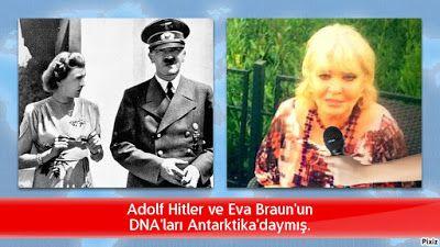 kitaplar:   Adolf Hitler ve Eva Braun'unDNA'ları Antarktika'...
