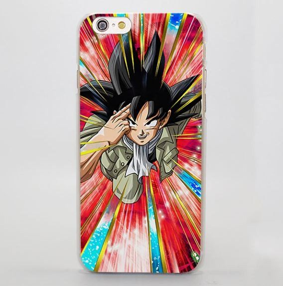 DBZ Goku Saiyan Teleportation Vibrant Art iPhone 4 5 6 7 Plus Case  #DBZ #Goku #Saiyan #Teleportation #Vibrant #Art #iPhone7Case