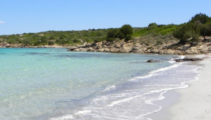 a picture of cala sabina beach