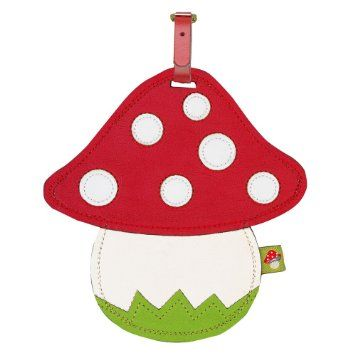 Die Spiegelburg 55251 Luggage Tag Toadstool: Amazon.co.uk: Luggage