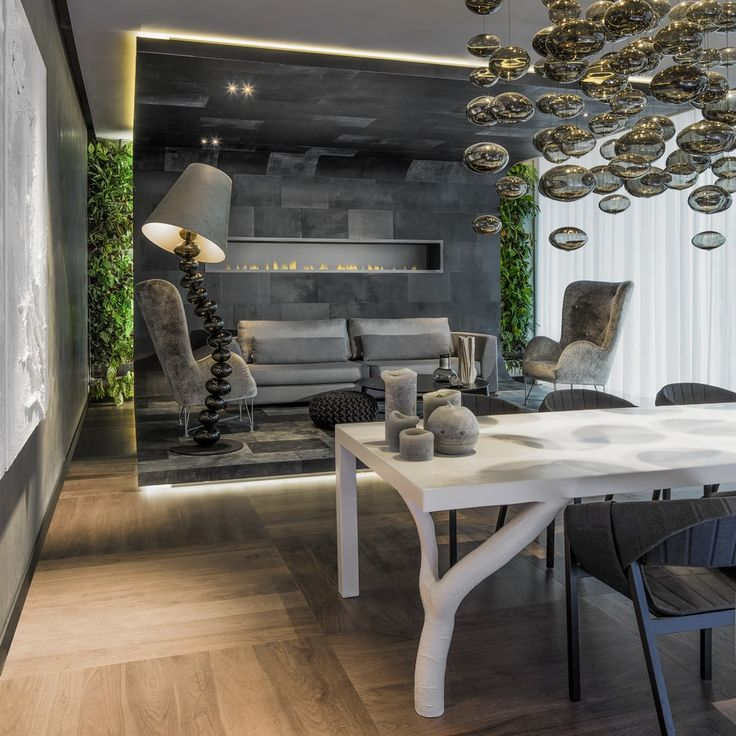 Wow!!! Inviting Modern Boardroom Design Enhanced by Spectacular Lighting