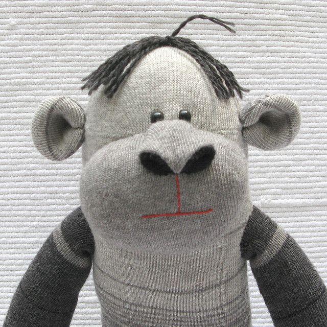 ... Sock Monkey & Friends on Pinterest | Sock bunny, Sock monkey baby and