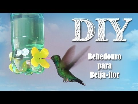 AnimalPetFans: DIY Bebedouro para Beija-flor