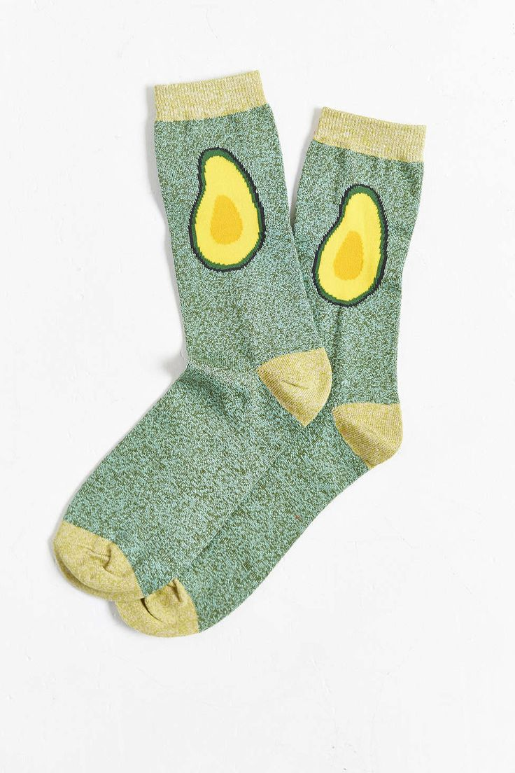 Avocado Halves Sock - US$8 (3 for US$20)