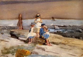 W. Homer, Παιδιά στην παραλία. 1881. Ιδιωτική Συλλογή.