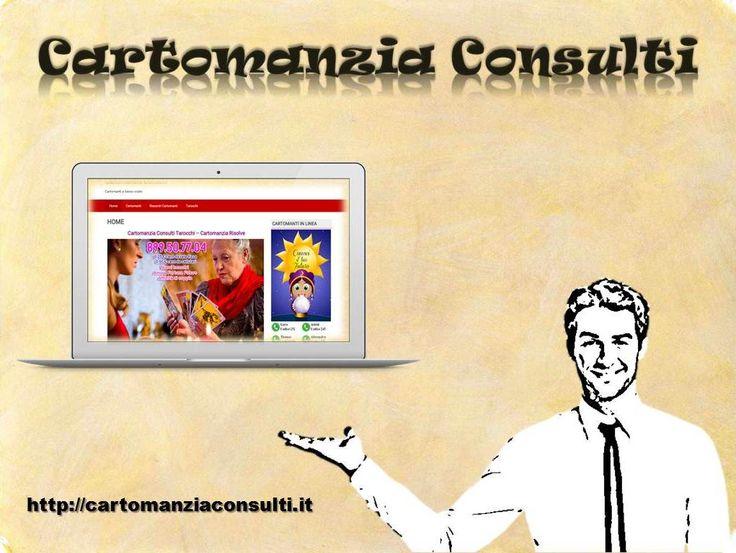 """""""#Cartomanzia #consulti"""" ci fornisce #portale #on-line per risolvere i nostri tutti i problemi come l'amore, il futuro, le imprese e gli altri. Le nostre #cartomanti #esperti aiutano tramite questo sito nella prezzo accessibile. Per di più, visita il sito http://cartomanziaconsulti.it"""