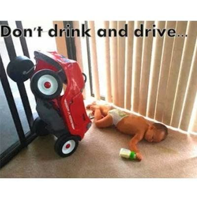 My 15 year-old just started driver's ed.  This is funny, yet a serious reminder.