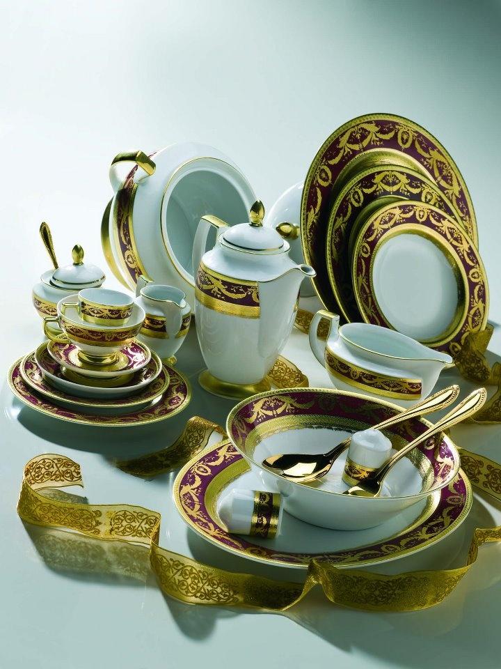 Элитная посуда в картинках