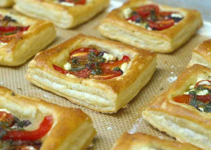 savory puff pastry squares. | Recipes | Pinterest | Pastries, Puff ...