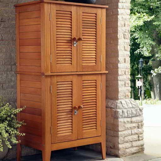 Outdoor Waterproof Towel Storage Cabinet