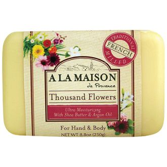 a la maison soap - really moisturizing and uses natural essential oils for scent