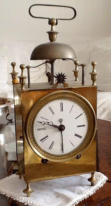 Alarm clock late 18th century