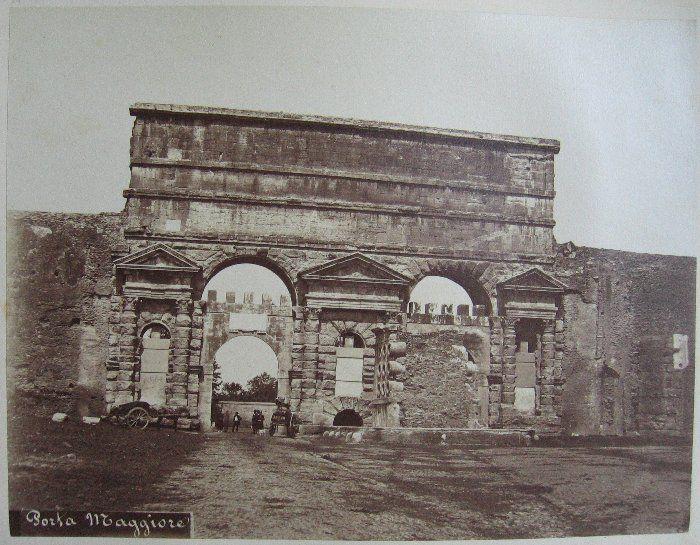 Porta Maggiore ante 1875