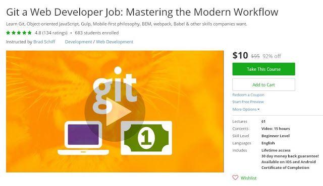 Coupon Udemy - Git a Web Developer Job Mastering the Modern - web developer job description