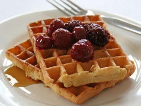 """Вафли """"ГОФРЕ"""" за 10 минут к завтраку. - YouTube"""