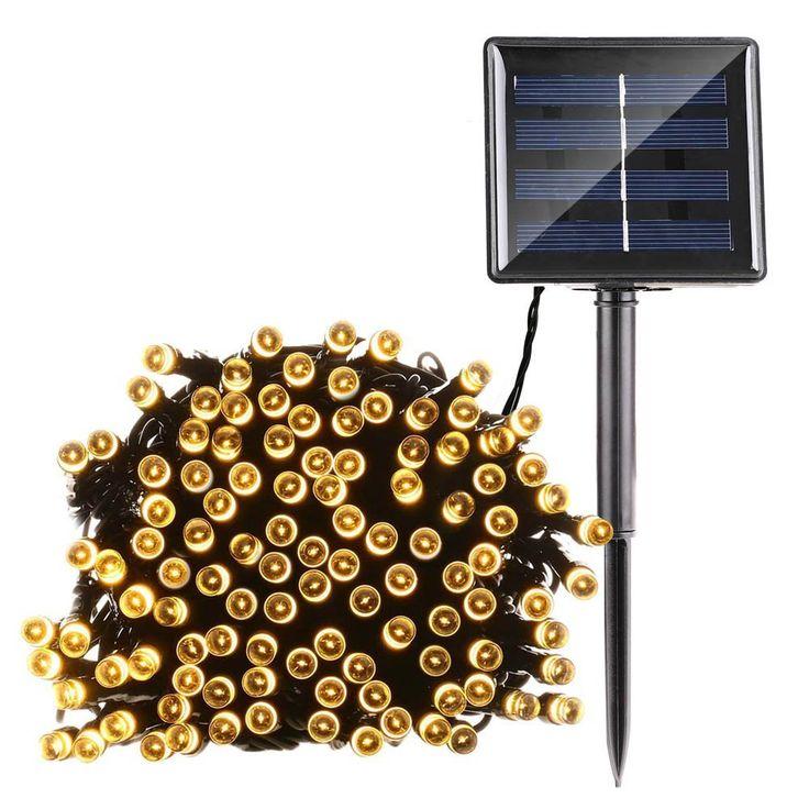 Barato Luzes Da Corda Solar 200/100 LED de Fadas Estrelado Jardim Seqüência de Luz Luzes de Natal Solar Iluminação Decorativa Ao Ar Livre À Prova D' Água, Compro Qualidade Cordas de iluminação diretamente de fornecedores da China: Luzes Da Corda Solar 200/100 LED de Fadas Estrelado Jardim Seqüência de Luz Luzes de Natal Solar Iluminação Decorativa Ao Ar Livre À Prova D' Água