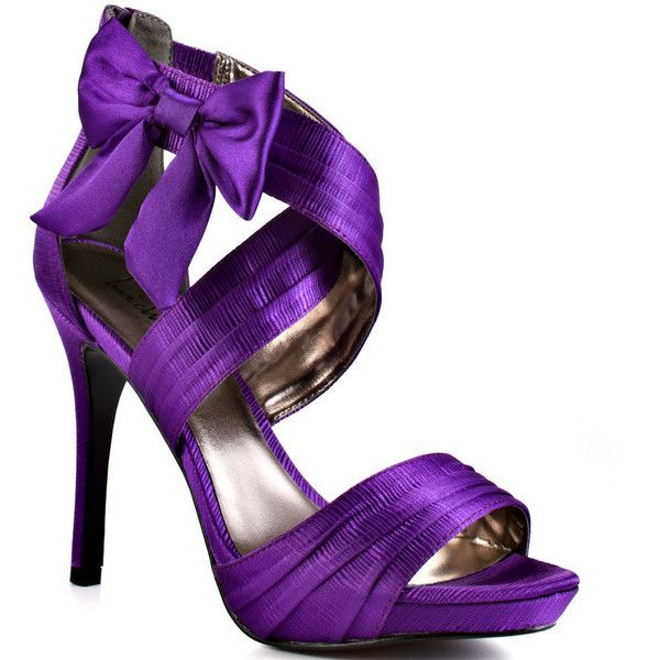 Luichiny Mist Tee - Purple Satin Pumps