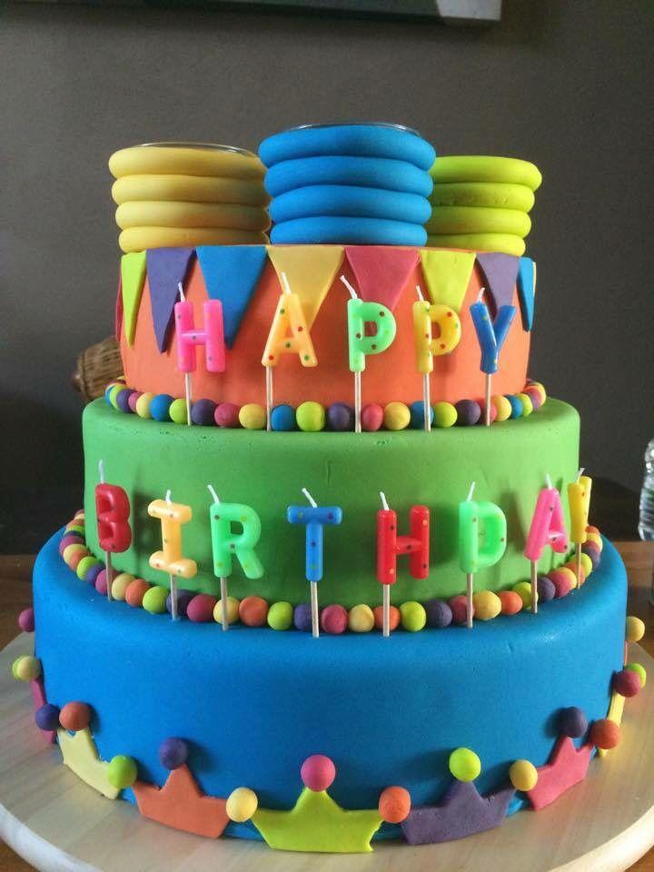 Verjaardagstaart fimo