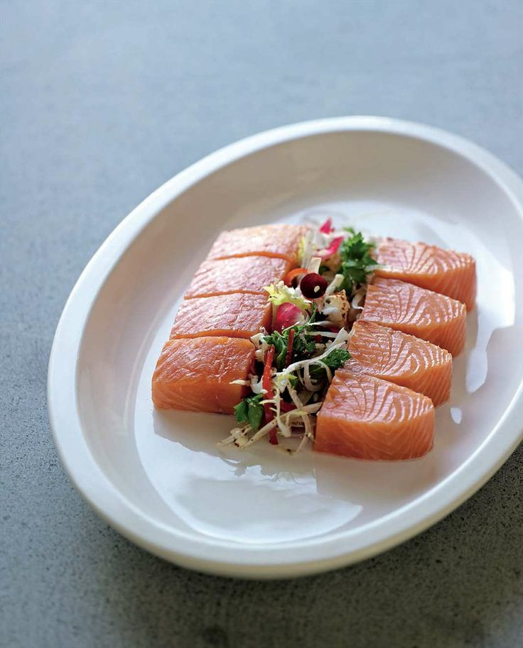 Fragrant cured salmon by Greg Malouf from Malouf   Cooked