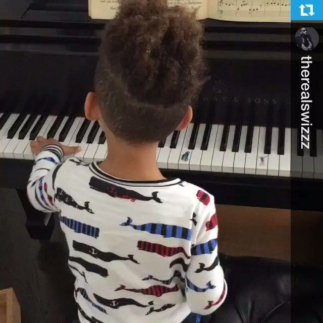 Pin for Later: 35 Adorable Pictures of Alicia Keys and Swizz Beatz's Boys