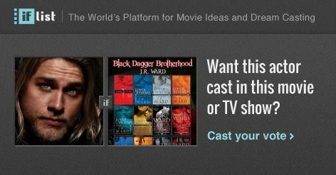 Charlie Hunnam as Lassiter in The Black Dagger Brotherhood? Support this movie proposal or make your own on The IF List.