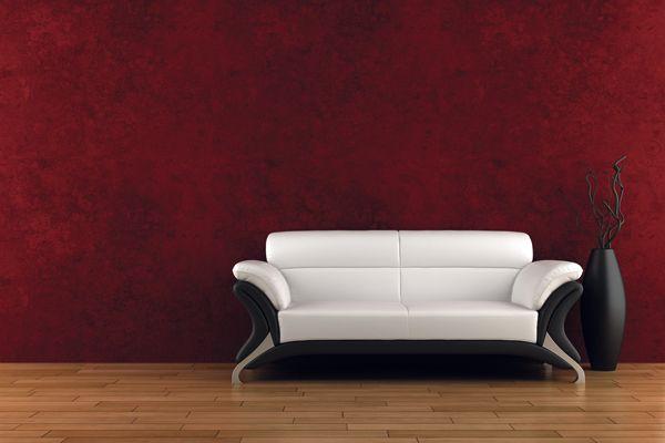 Rosso: colore stimolante, eccitante, caldo. Aumenta la circolazione sanguigna, innalza la temperatura corporea. Da evitare per le pareti della camera da letto e della zona relax, risulta più adatto per la zona living.