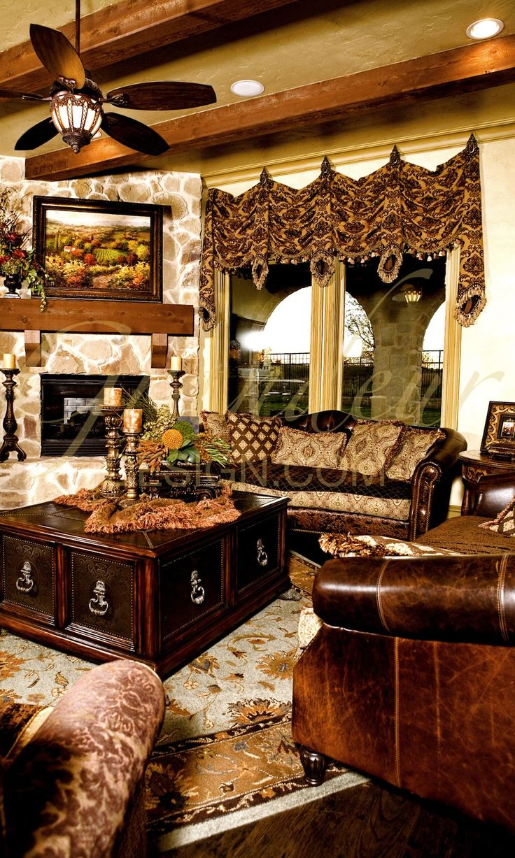 1842 best images about home decor on pinterest tuscan - Pictures of decorated living rooms ...