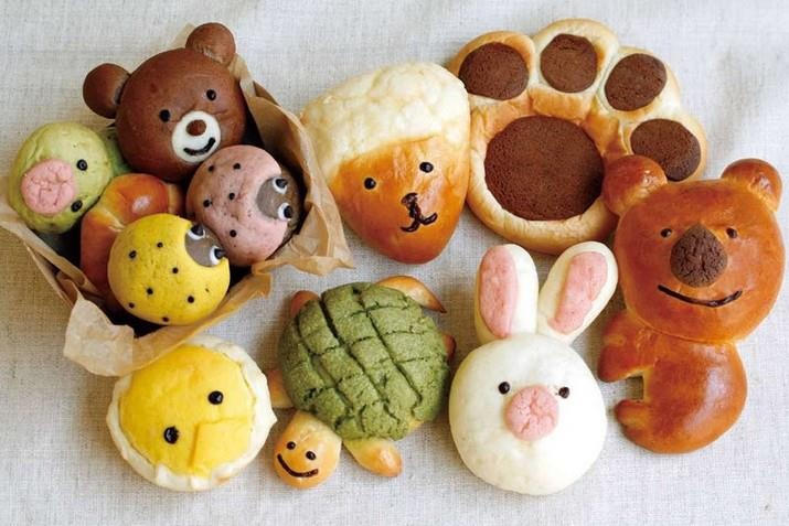 Cute Animal bread