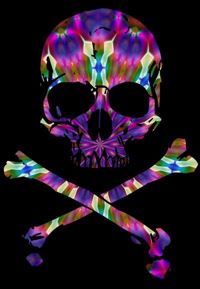skull wallpaper 133 colorful - photo #26