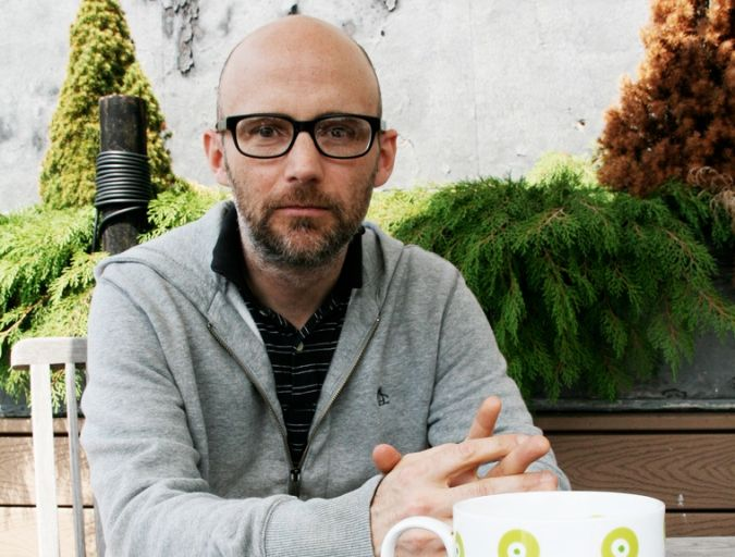 "Moby Gives Away Four Hours of Ambient Music Designed for Yoga or Meditation. ""i've been making really really really quiet music to listen to when i do yoga or sleep or meditate or panic."""