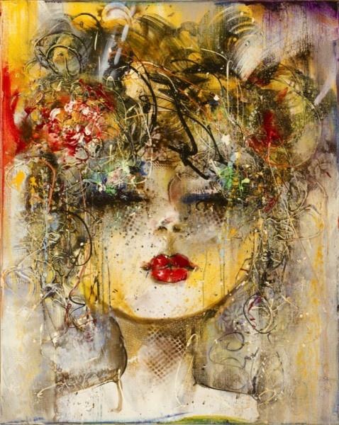 Guy Olivier - Ik waardeer deze kunstenaar om zijn experimentele benadering van materialen en technieken