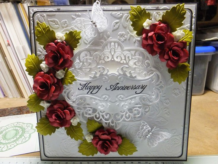 158 best special wedding anniversary cards images on pinterest