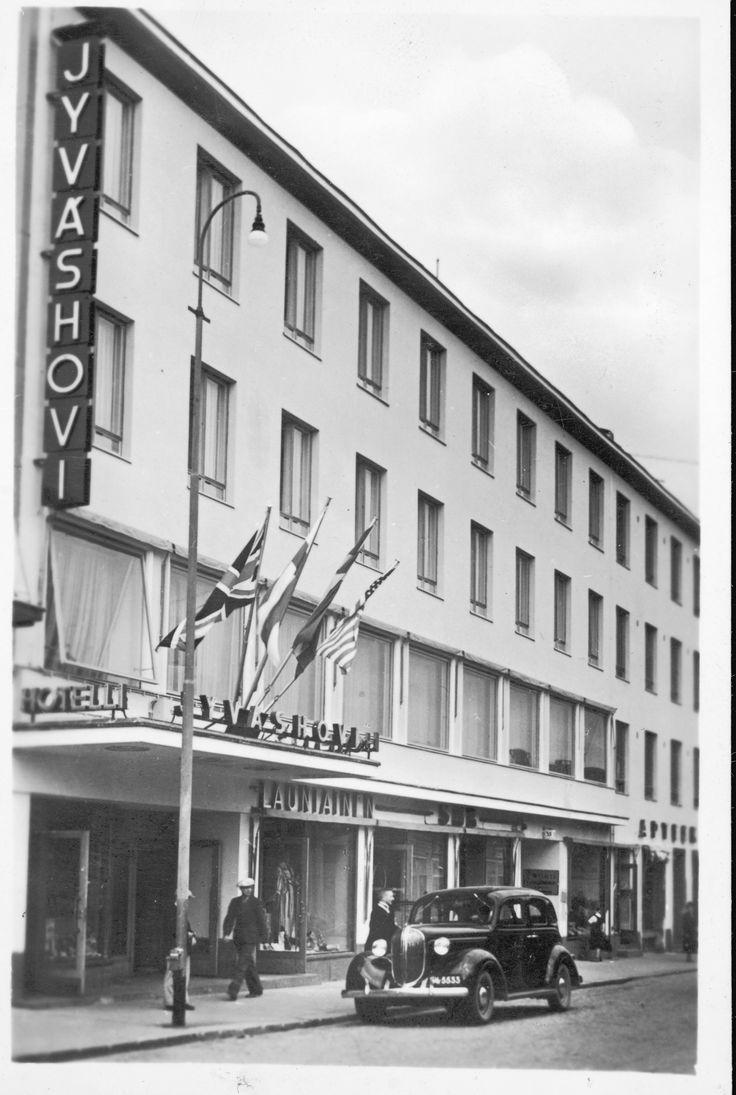 Hotelli Jyväshovi, Jyväskylä, vanha julkisivu