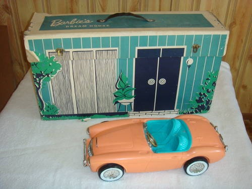 1962 Barbie Dream House Vintage Cardboard Dollhouse W: 17 Best Images About Toys On Pinterest