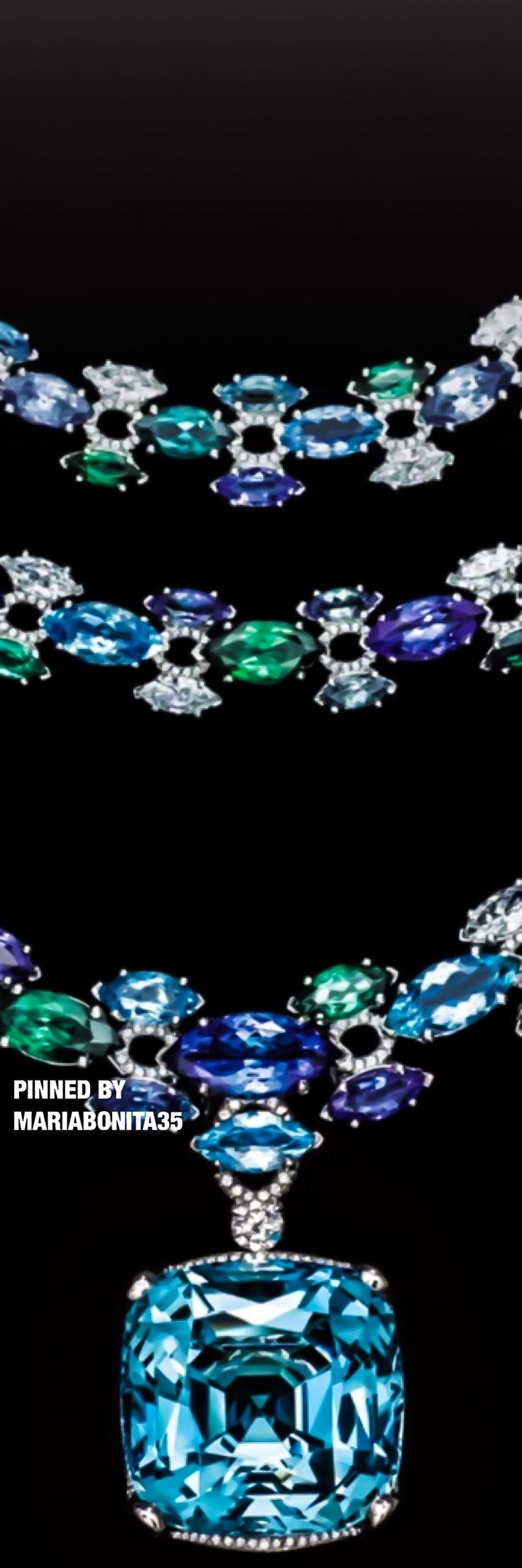 Tiffany & Co Three Strand Drop Necklace