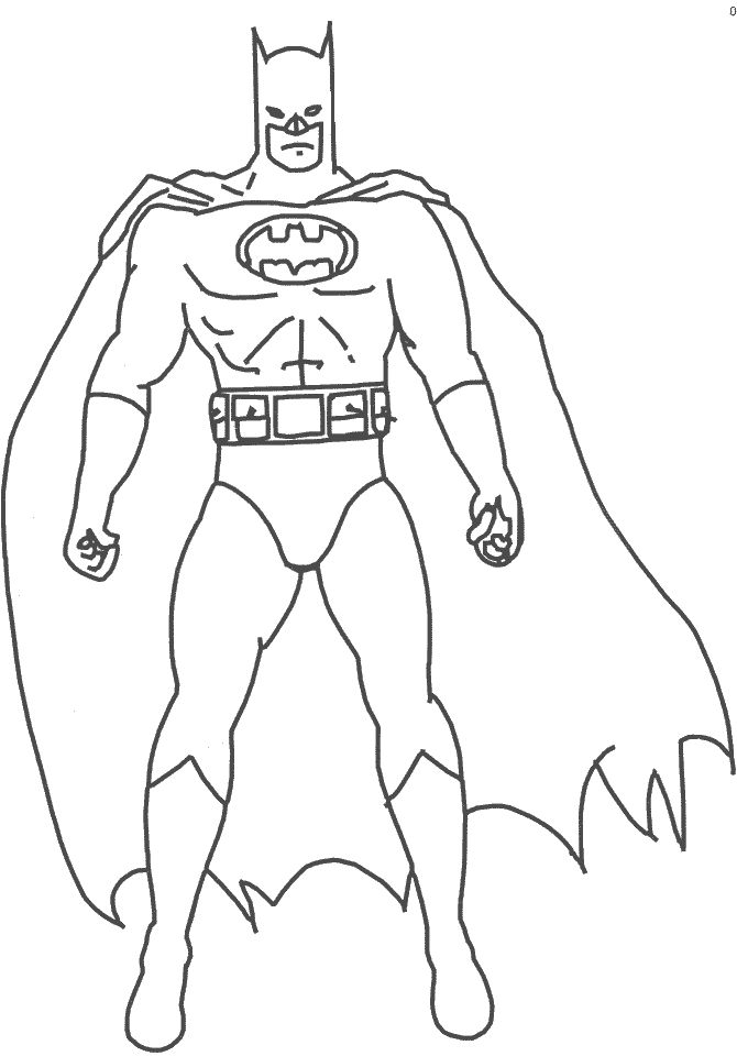 free printable coloring pages of batman | batman coloring pages - Google Search | Super Heroes ...