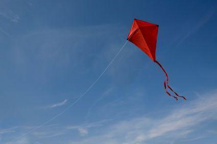 Selfmade flying kites :)
