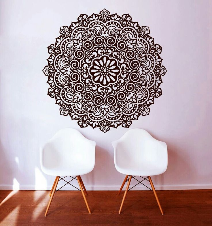 11 best Mural images on Pinterest Mandalas, Murals and Mandala on wall
