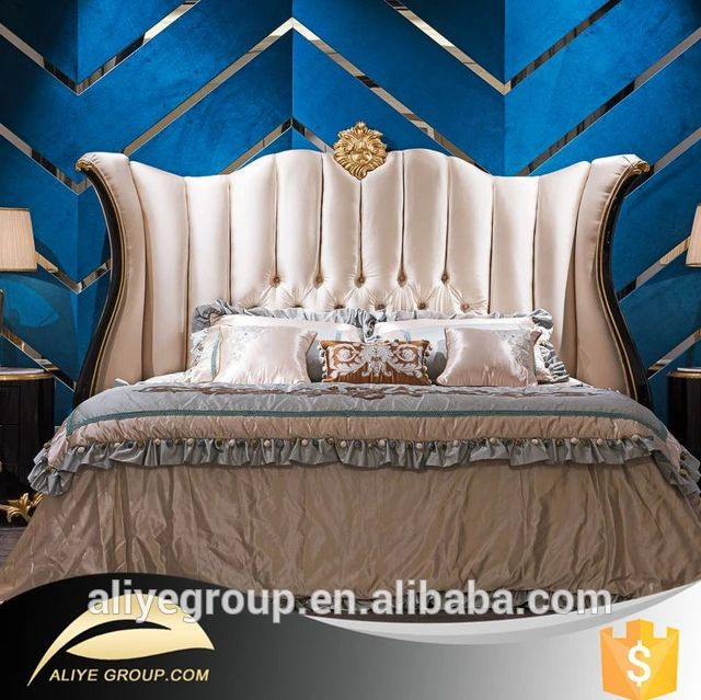 Check out this product on Alibaba.com App AB01-latest double bed designs and dubai bed furniture