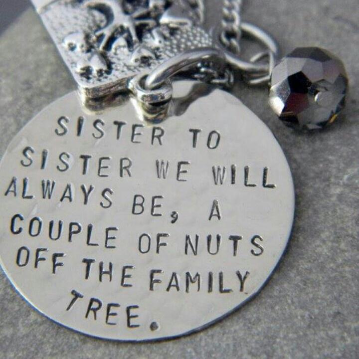 @Patricia K. Bedoya  @Monica Forghani Lerma  Sister necklace
