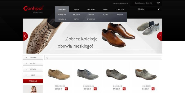 Online store for Conhpol.    www.conhpol.pl/sklep