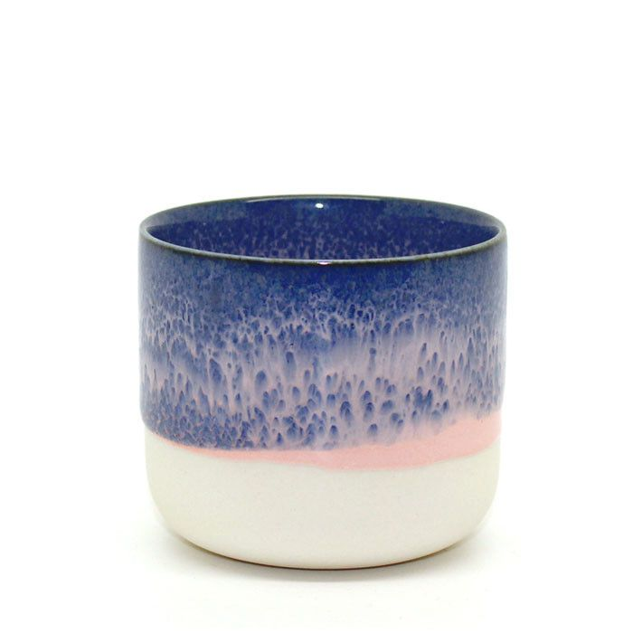 blue, what the cup holds, the blue is emotive of feelings held. Sip Cup # 3