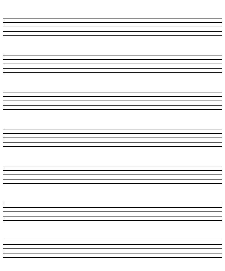 Staff Music Paper  CityEsporaCo